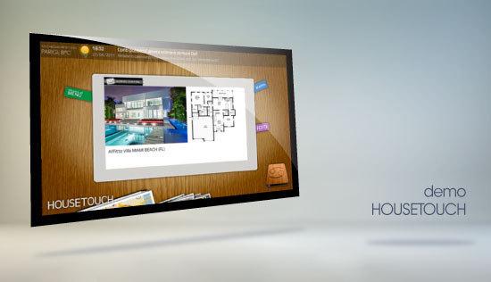 Housetouch totem e touchscreen per agenzie immobiliari - Agenzie immobiliari putignano ...